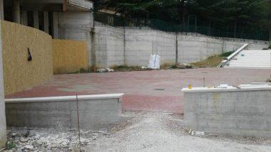 Ellera 2000: i lavori proseguono al pari della messa in sicurezza esterna del Teatro Girasole 6
