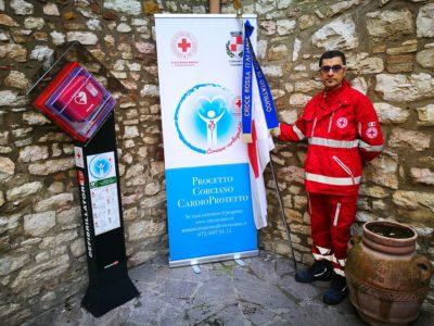 croce rossa cuore defibrillatore salute corciano-centro cronaca