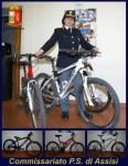 Bici rubate, cinque persone (tra cui due corcianesi) denunciate dalla polizia di Assisi