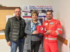 """Collocati i tre defibrillatori di """"Dai ritmo alla vita"""" 1"""