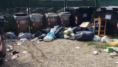 decoro igiene isola ecologica rifiuti cronaca san-mariano