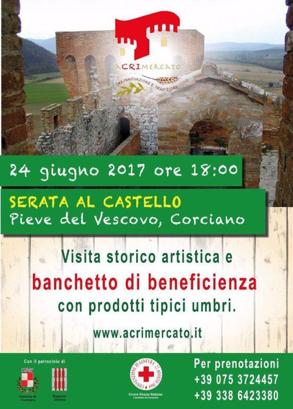 Torna L'aCRImercato a Pieve del Vescovo con stand, laboratori e allestimento medievale 2