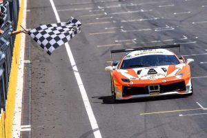 vettura di Daniele Di Amato 300x200 - Motori, le Ferrari umbre della CdP-De Poi trionfano a Budapest