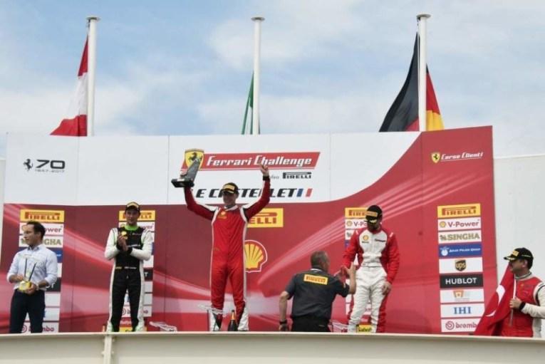 Ferrari Challenge, ancora successi per le umbre della CDP-De Poi 2