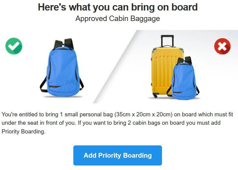 Ryanair cambia le regole sui bagagli: dal 1° novembre niente più trolley gratis in cabina