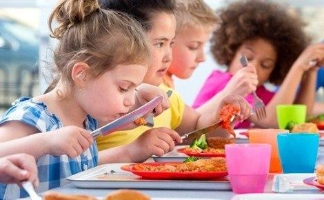 bambini genitori mensa orti progetto refezione scuola cronaca