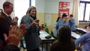 La Presidente Marini alla riconsegna delle scuole corcianesi dopo i lavori costati oltre 410 mila euro 2