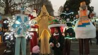 La parata di Natale luminosa