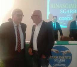 """Vittorio Sgarbi a Villa Pieve del Vescovo presenta """"Rinascimento Sgarbi per Corciano"""""""