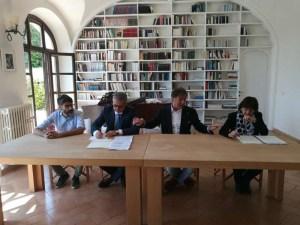 IMG 20180521 112359 300x225 - Ricostruzione: la Fondazione Cucinelli restaura anche il Teatro di Norcia