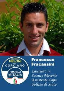 francesco 212x300 - Elezioni a Corciano: presentata la lista di Fratelli d'Italia per Franco Testi