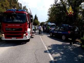 incidente stradale vigili del fuoco cronaca
