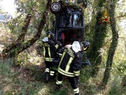 Incidente stradale tra Ellera e Corciano