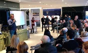 Motorsport: premiati alla De Poi i 'Volanti d'oro di Linea Motori', ospite Jimmy Ghione