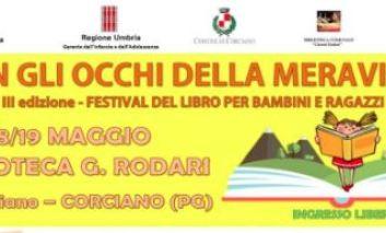 """Alla biblioteca Rodari torna il Festival del libro per bambini e ragazzi """"Con gli occhi della meraviglia"""""""
