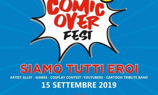 """Al Gherlinda arriva la prima edizione di """"Comic Over Fest"""": cosplay, youtubers e artisti del fumetto"""