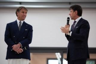 brunello cucinelli Giuseppe Conte solomeo politica