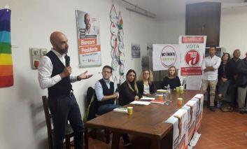 """Vincenzo Bianconi parla agli elettori di Corciano: """"Dobbiamo fare comunità per il futuro dell'Umbria"""""""