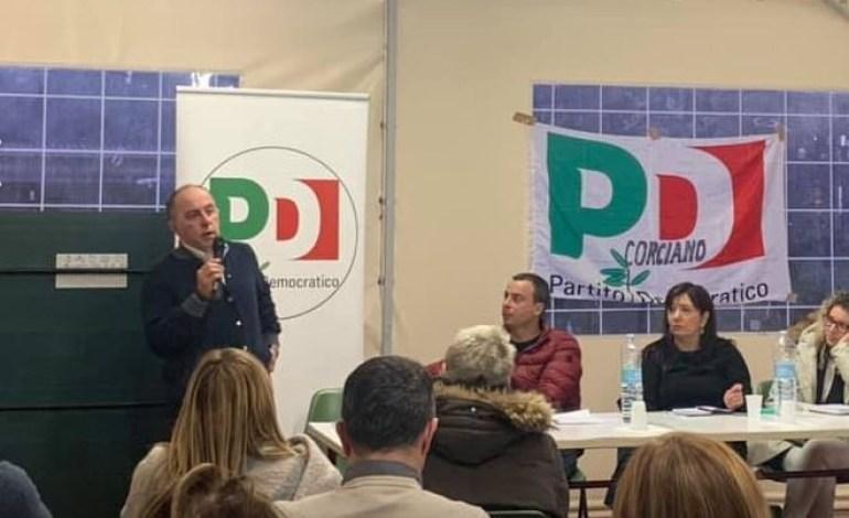 """Stefano Gabrielli è il nuovo segretario del PD di Corciano: """"Riscopriamo il confronto per il bene comune"""""""