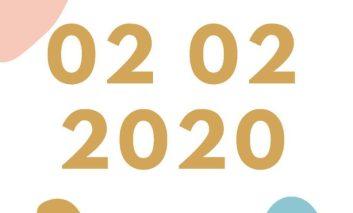 Giornata palindroma, tutte le curiosità del 02-02-2020