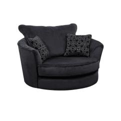 Swivel Chair Ireland And Matching Stool Samantha Cuddler  Corcorans Furniture Carpets