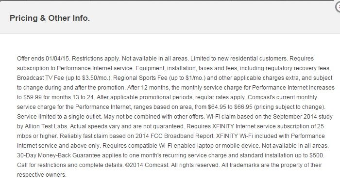Why The Comcast Internet Plus TV Packages May Not Be The