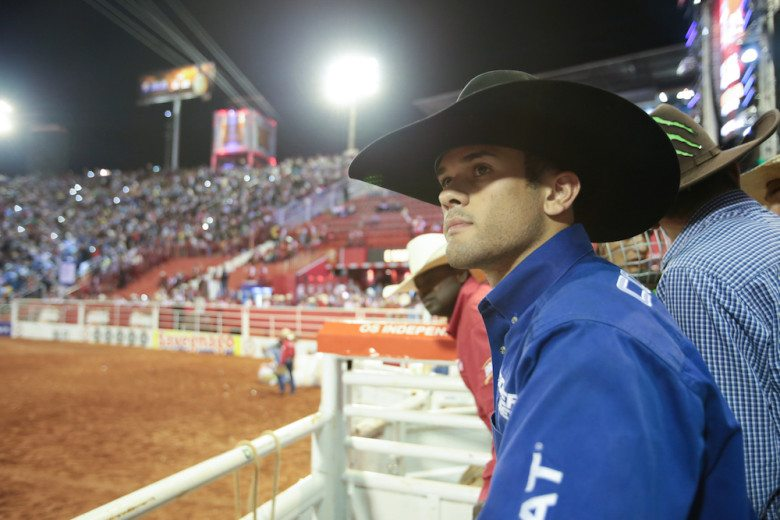 """Fearless, a Netflix original docu-series, follows a group of professional bull riders at the top of their sport. It premieres on Netflix on August 19, 2016. Pictured: """"Kaique Pacheco""""  (Alberto Gonzaga/Netflix)"""