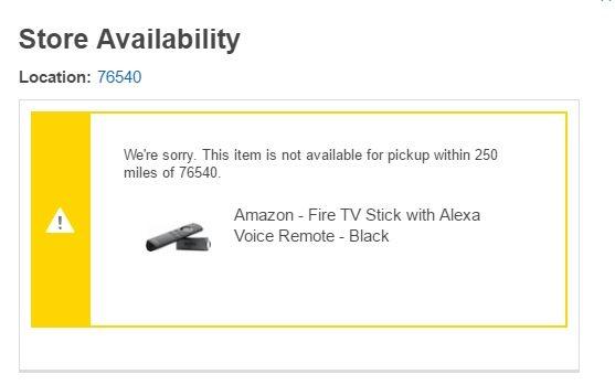 Fire TV Stick Best Buy
