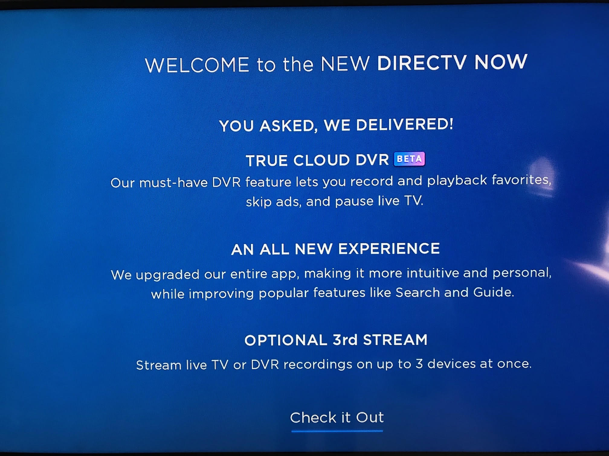 Pay attention to how the DVR is just listed as included. That seems to  confirm what we reported before about DIRECTV ...