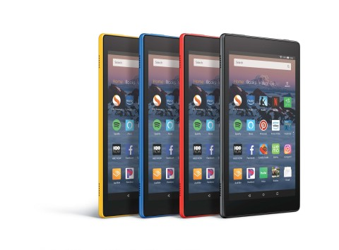 4 fire hd tablets