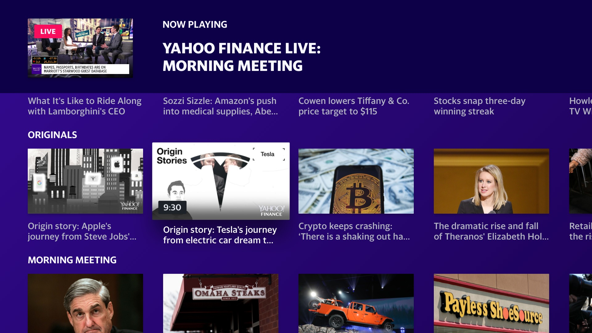 Yahoo Finance Comes to Fire TV & Android TV - Cord Cutters News