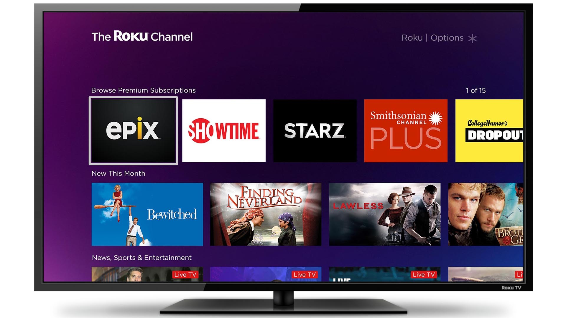 The Roku Channel is Now Roku's Most Popular Free Streaming