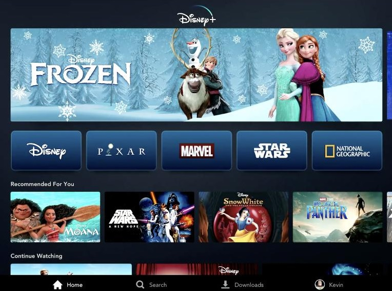 Disney+ will launch in the United Kingdom on March 31st 2020