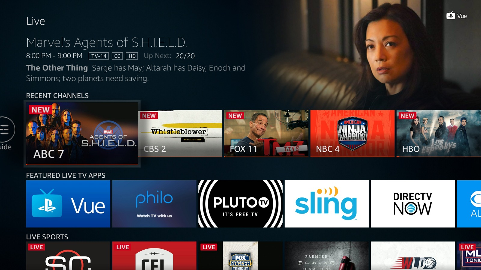 Amazon is Adding a New Live TV Section to The Fire TV With