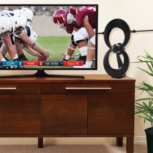 Indoor ClearStream MAX-V on tv stand