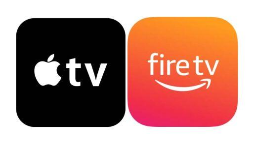 Apple TV Fire TV App icons