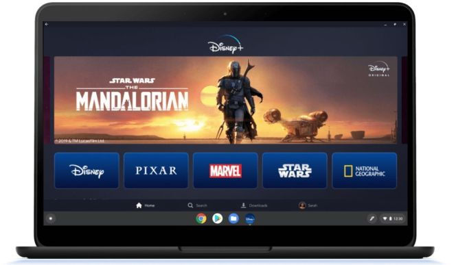 Disney+ on Chromebook