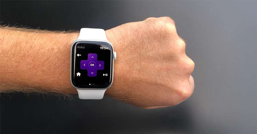 Apple Watch gets Roku app support for remote controlling devices
