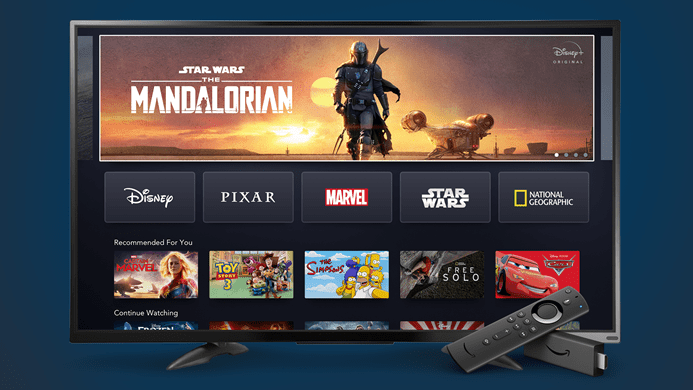 Disney+ will be on Amazon Fire TV starting November  12