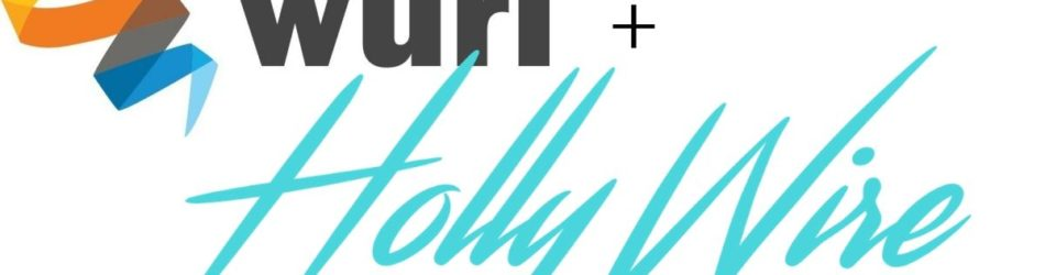 Wurl and Hollywire logos