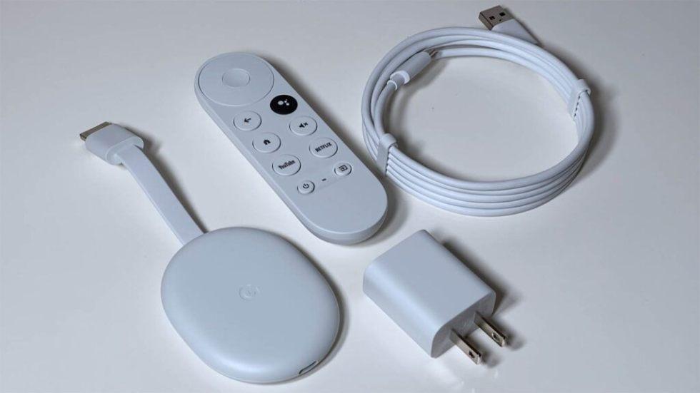 Chromecast box contents