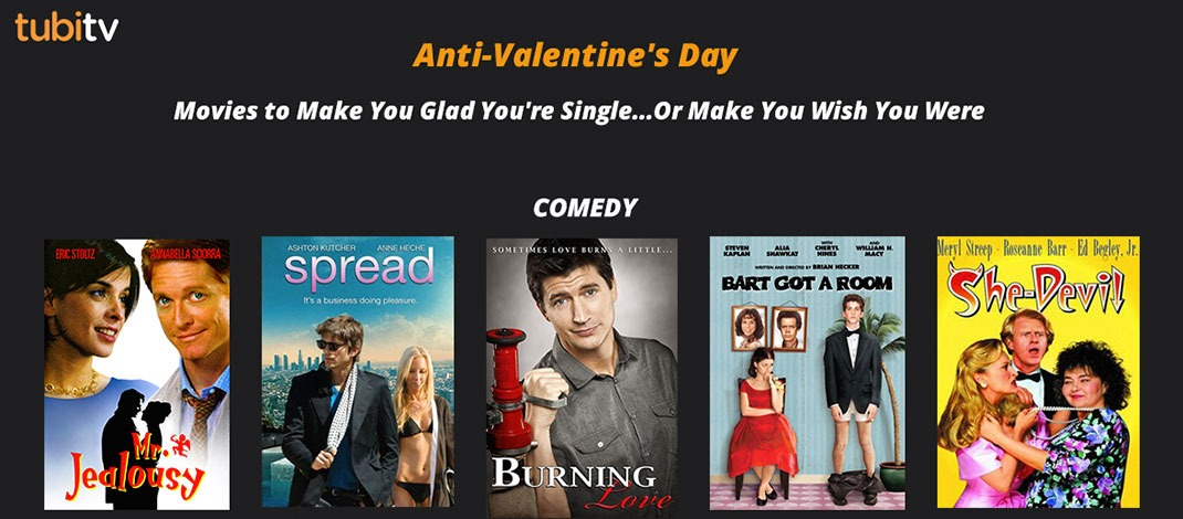 Anti-Valentine's Day Movies Free On Tubi TV