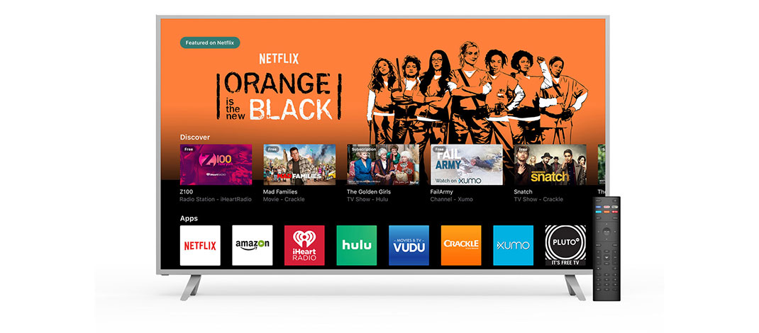 New VIZIO SmartCast TV Brings Apps To The Big Screen For Quick Access