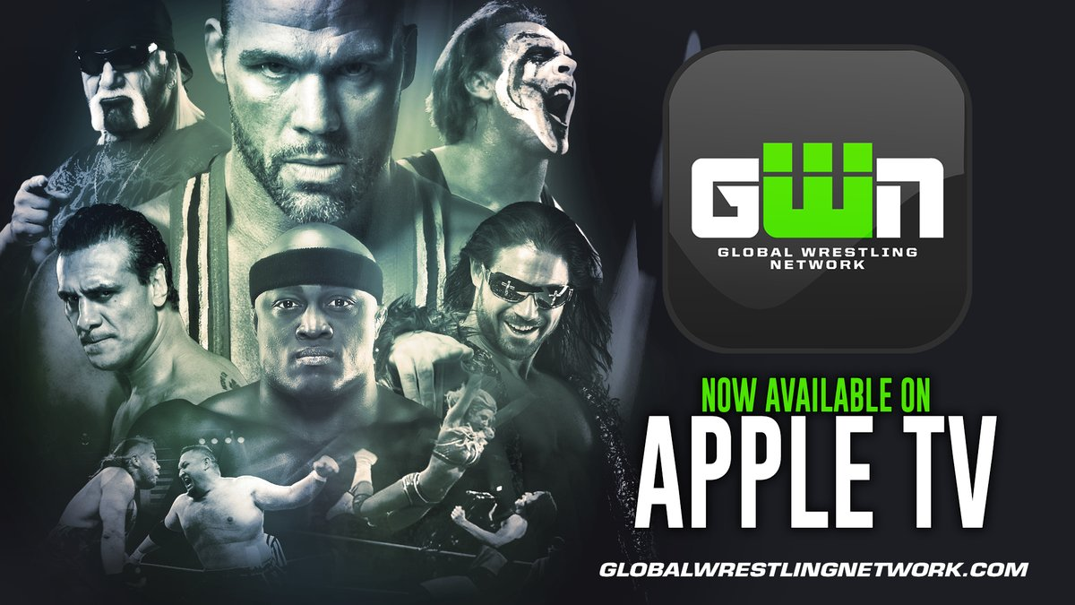 Global Wrestling Network Launches On Apple TV, Roku Up Next?