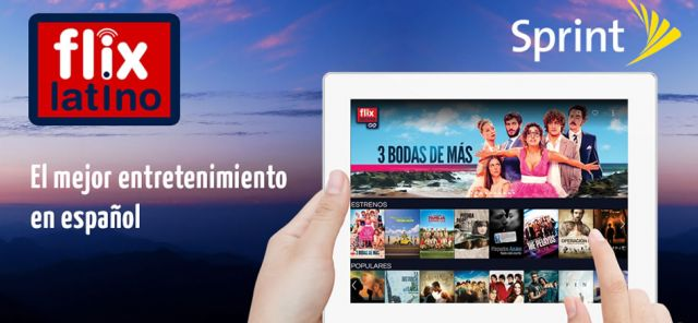 Sprint & FlixLatino To Provide Spanish-Language Entertainment To Customers