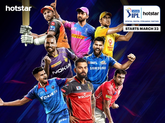 Hotstar Is The Official Streaming Partner For The 2019 VIVO Indian Premier League