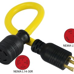 Nema L14 30r Wiring Diagram 2002 Trailblazer Radio Conntek Pl530l1430 L5 30p To Pigtail Adapter