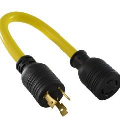 conntek pl530l1430 nema l5 30p to l14 30r pigtail adapter l5 30 plug wiring [ 1500 x 1500 Pixel ]