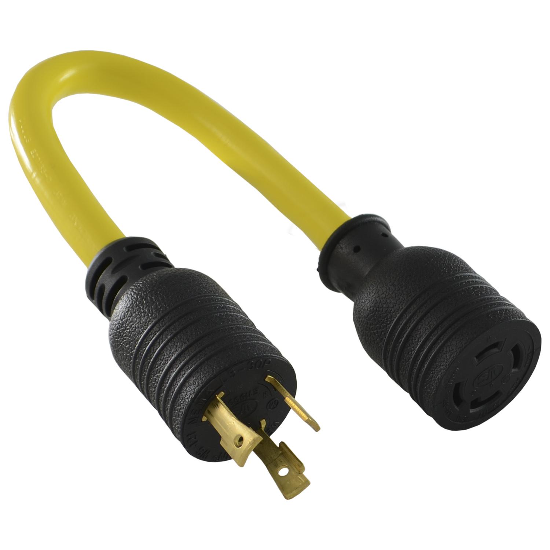 hight resolution of conntek pl530l1430 nema l5 30p to l14 30r pigtail adapter l5 30 plug wiring