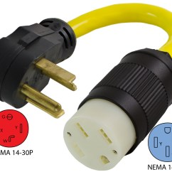 Wiring Diagram For Nema 14 50r Receptacle A Venn Of Plant And Animal Cells Conntek Ev1430t 30p To Ev Adapter